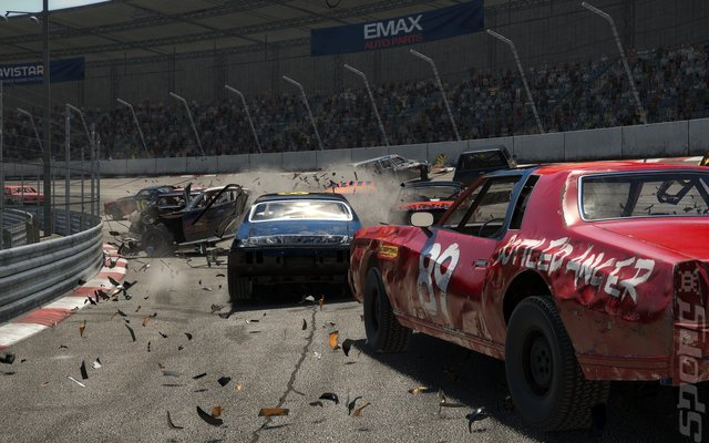 Wreckfest - PS4 Screen