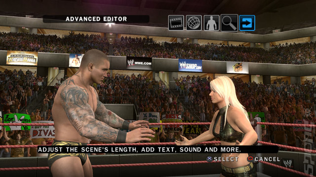 WWE SmackDown vs RAW 2010 - Xbox 360 Screen
