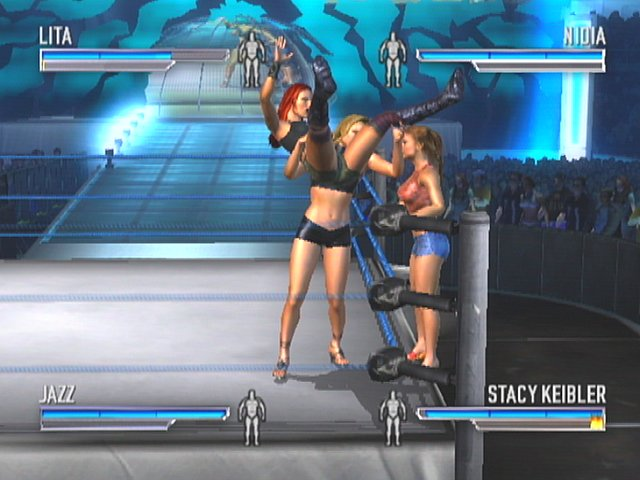 WWE Wrestlemania 21 - Xbox Screen