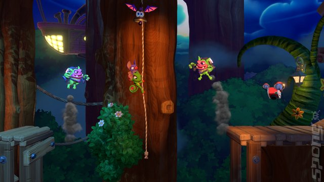 Yooka-Laylee and the Impossible Lair - PS4 Screen