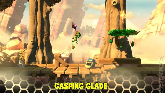 Yooka-Laylee and the Impossible Lair - Switch Screen