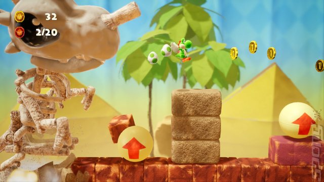 Yoshi's Crafted World - Switch Screen
