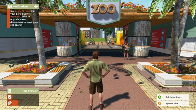 Zoo Tycoon - Xbox 360 Screen