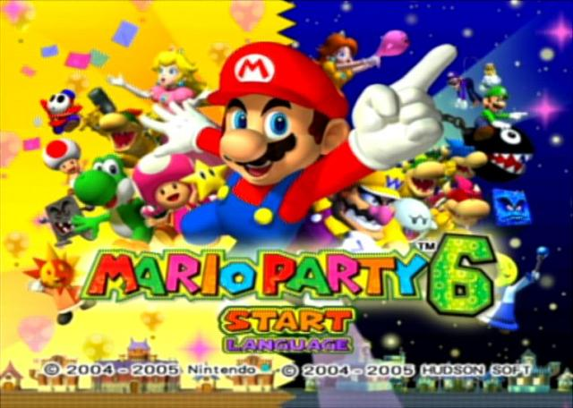 Mario Party 6 - GameCube Screen
