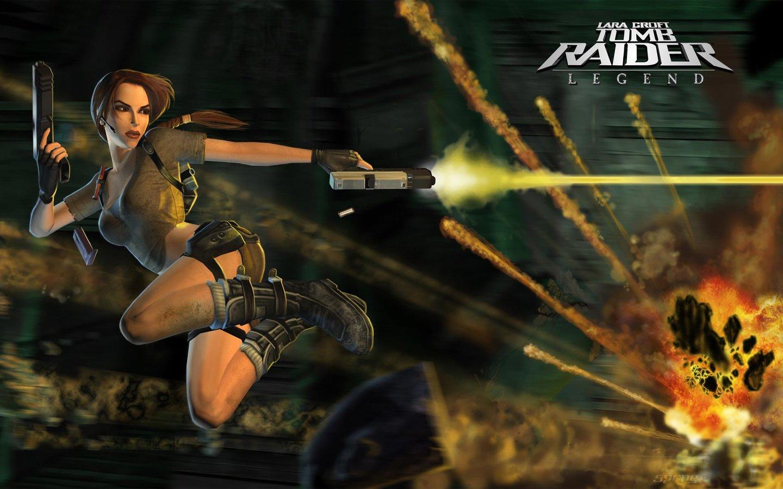 Wallpapers Lara Croft Tomb Raider Legend Ps2 3 Of 4